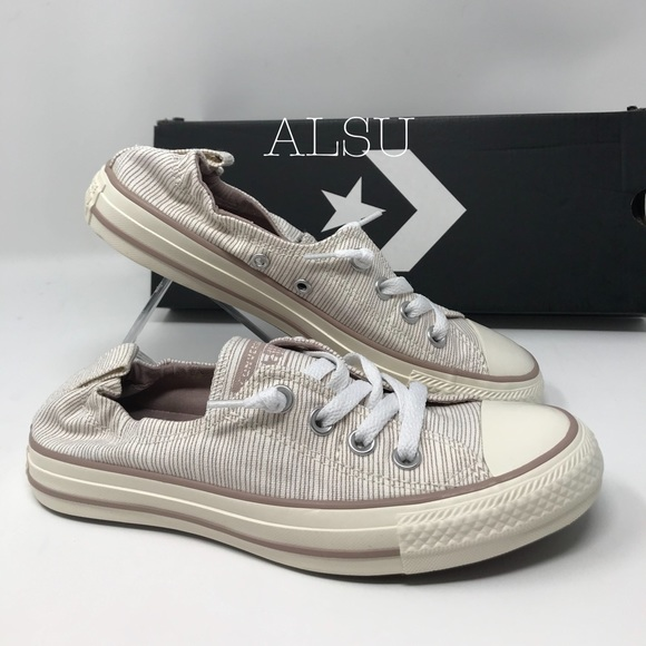 Converse Ctas Shoreline OX Diffused Taupe W AUTHEN NWT